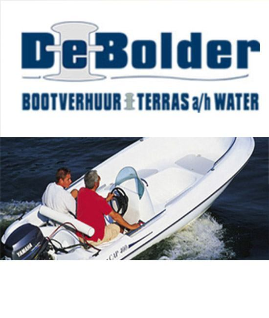 Motorboats at De Bolder